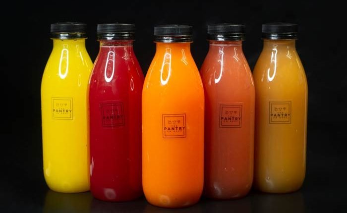 The Pantry On Grey Cold Press Juice