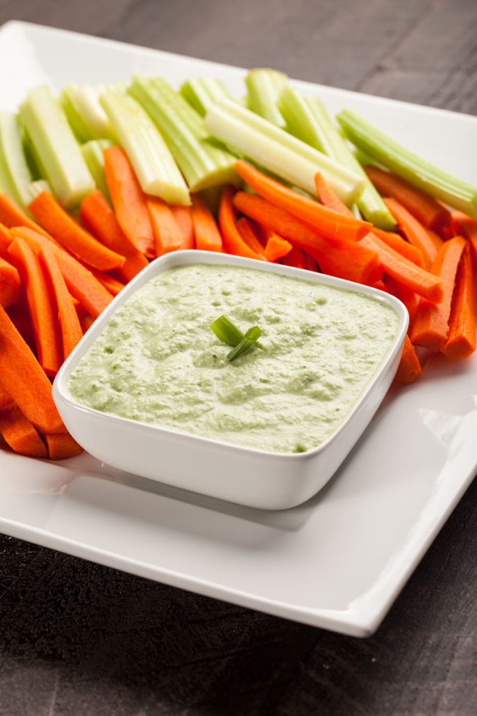 Celery and Carrot Platter - Summer Seasonal Fruits