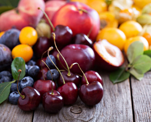 Summer Stone Fruits - The Pantry On Grey